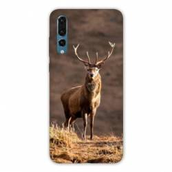 Coque Huawei  Honor 20 Pro chasse chevreuil Blanc