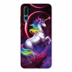 Coque Huawei  Honor 20 Pro Licorne Arc en ciel