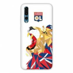Coque Huawei  Honor 20 Pro License Olympique Lyonnais OL - lion color