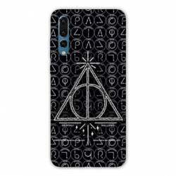 Coque Huawei  Honor 20 Pro WB License harry potter pattern triangle noir