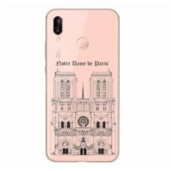 Coque transparente Samsung Galaxy A20e Notre Dame Paris