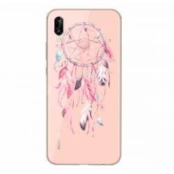 Coque transparente Samsung Galaxy A20e feminine attrape reve rose