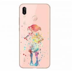 Coque transparente Samsung Galaxy A20e Dobby colore