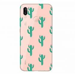 Coque transparente Samsung Galaxy A20e Cactus