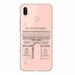 Coque transparente Samsung Galaxy A20e Arc triomphe
