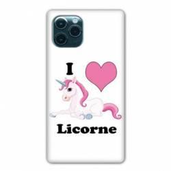 """Coque Iphone 11 (5,8"""") Licorne I love FR"""