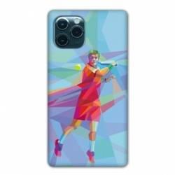 "Coque Iphone 11 (5,8"") Tennis Revers Bleu"