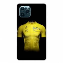"Coque Iphone 11 (5,8"") Cyclisme Maillot jaune"