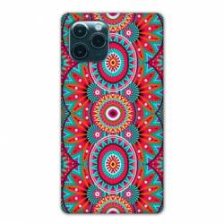"""Coque Iphone 11 (5,8"""") Etnic abstrait Pic rouge"""