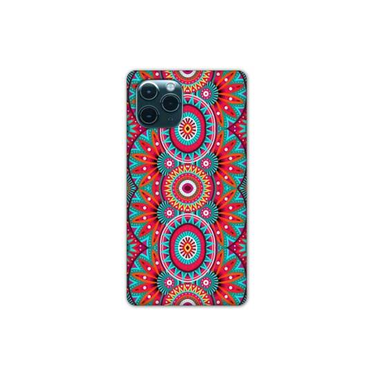 "Coque Iphone 11 (5,8"") Etnic abstrait Pic rouge"