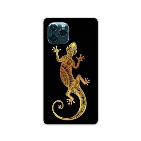 "Coque Iphone 11 (5,8"") Animaux Maori lezard noir"