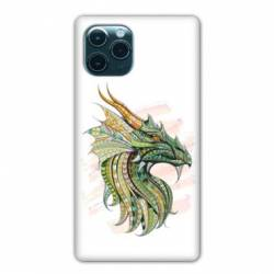 "Coque Iphone 11 (5,8"") Ethniques Dragon Color"