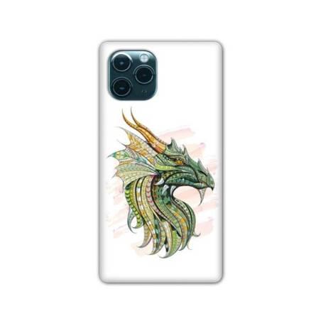 "Coque Iphone 11 (5,8"") Ethniques Dragon Color"