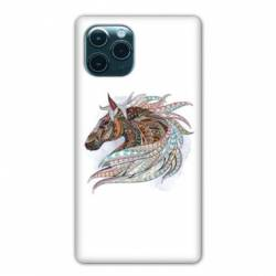 "Coque Iphone 11 (5,8"") Ethniques Cheval Color B"
