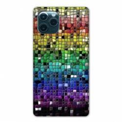 """Coque Iphone 11 (5,8"""") Texture mosaique"""