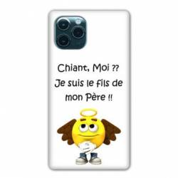 """Coque Iphone 11 (5,8"""") Humour Moi chiant"""