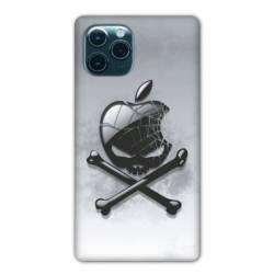 "Coque Iphone 11 (5,8"") Pomme Tete mort"