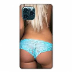 """Coque Iphone 11 (5,8"""") Sexy tanga bleu"""