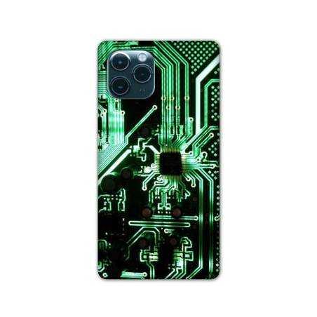 """Coque Iphone 11 (5,8"""") Trompe œil composant"""
