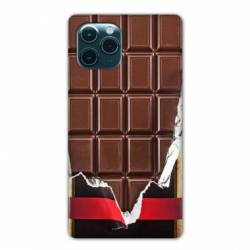 "Coque Iphone 11 (5,8"") Trompe œil chocolat"