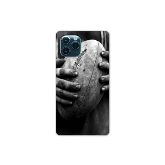 Coque Pour Iphone 11 (6,1) Rugby ballon vintage