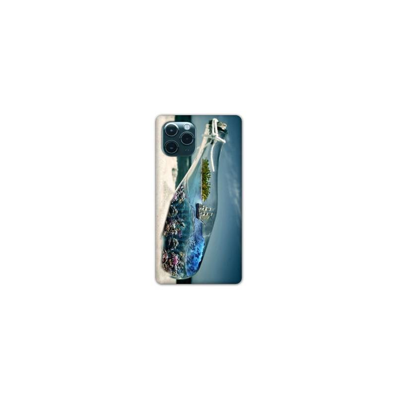 """Coque Iphone 11 (5,8"""") Mer Bouteille"""