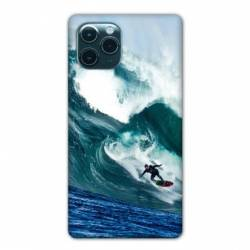"Coque Iphone 11 (5,8"") Surf vague"