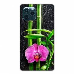 "Coque Iphone 11 (5,8"") orchidee bambou"