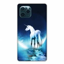 "Coque Iphone 11 (5,8"") Licorne Lune"