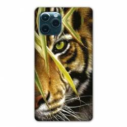 "Coque Iphone 11 (5,8"") œil tigre"