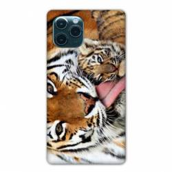 "Coque Iphone 11 (5,8"") bebe tigre"