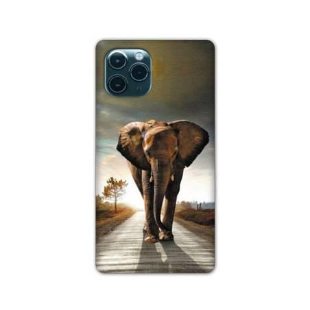 """Coque Iphone 11 (5,8"""") savane Elephant route"""