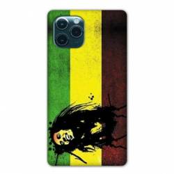 "Coque Iphone 11 (5,8"") Bob Marley Drapeau"