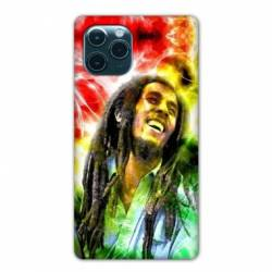 "Coque Iphone 11 (5,8"") Bob Marley Color"