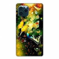 "Coque Iphone 11 (5,8"") papillons papillon jaune"