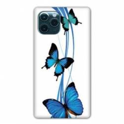 """Coque Iphone 11 (5,8"""") papillons bleu"""