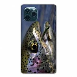 "Coque Iphone 11 (5,8"") peche truite"