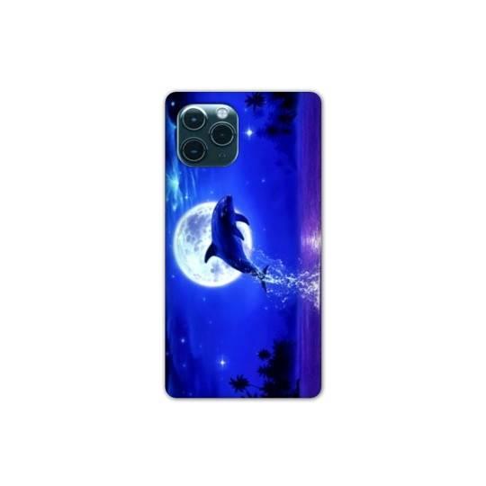 "Coque Iphone 11 (5,8"") Dauphin lune"