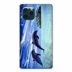 "Coque Iphone 11 (5,8"") Dauphin ile"