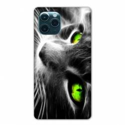 "Coque Iphone 11 (5,8"") Chat Vert"