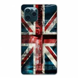 "Coque Iphone 11 (5,8"") Angleterre UK Jean's"