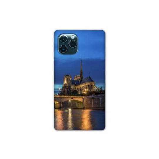 "Coque Iphone 11 (5,8"") France Notre Dame Paris night"