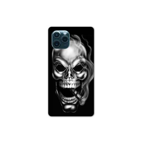 "Coque Iphone 11 (5,8"") tete de mort Fume"