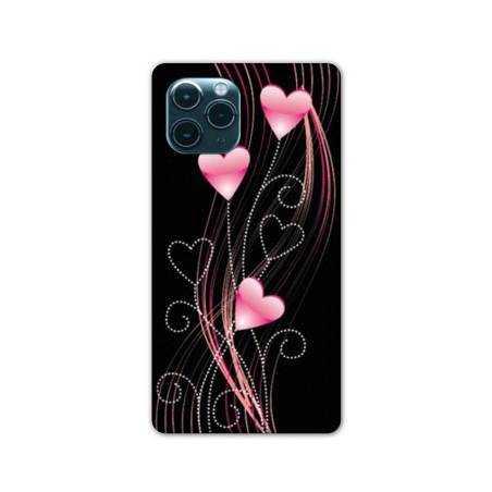 """Coque Iphone 11 (5,8"""") Cœur rose Montant"""