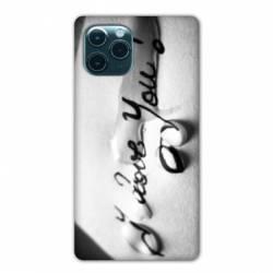 "Coque Iphone 11 (5,8"") I love you larme B"