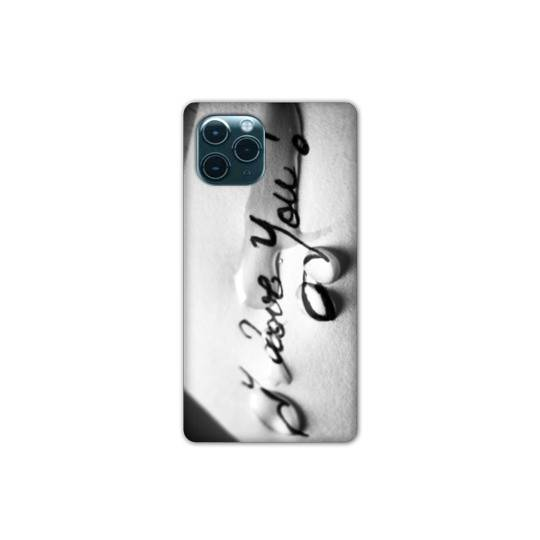 "Coque pour iphone 11 (6,1"") I love you larme B"