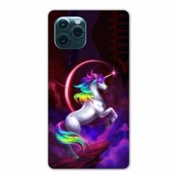 "Coque Iphone 11 Pro (6,1"") Licorne Arc en ciel"