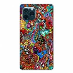 """Coque Iphone 11 Pro (6,1"""") Psychedelic Yeux"""
