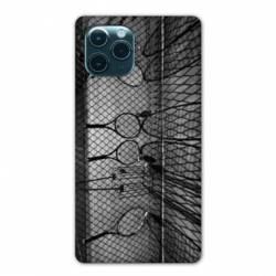 "Coque Iphone 11 Pro (6,1"") Tennis Raquette Vintage"