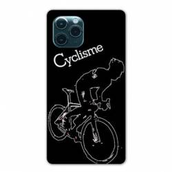 "Coque Iphone 11 Pro (6,1"") Cyclisme Ombre blanche"